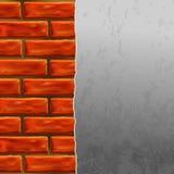 стена кирпичей Стоковая Фотография