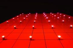 стена клуба светлая Стоковая Фотография