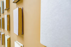 Стена книг Стоковое фото RF