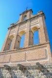 Стена колокола в Puerta del Кармене стен Авила, Испании стоковые изображения