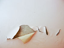 Стена краски шелушения Стоковые Изображения