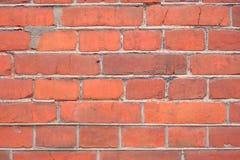 Стена красного кирпича и конкретной, красивой предпосылки Стоковое Изображение RF