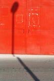 стена красного космоса урбанская Стоковые Изображения RF
