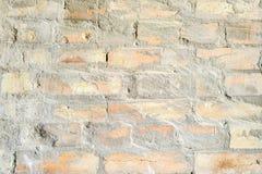 Стена красного несенного кирпича Стоковое Изображение RF