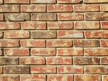стена красного цвета кирпича предпосылки Стоковое Фото