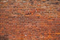 стена красного цвета кирпича Стоковые Фото