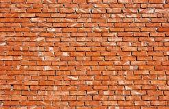 стена красного цвета кирпичей Стоковое Изображение