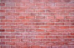 стена красного цвета кирпичной кладки Стоковое фото RF