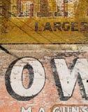 стена красного цвета grunge кирпича Стоковое Фото