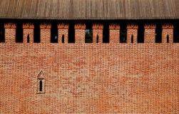 Стена крепости стоковые фото