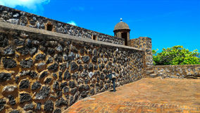Стена крепости Стоковое фото RF