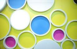 стена кругов Стоковые Изображения RF