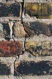 стена крупного плана кирпича старая Стоковое Изображение RF