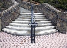стена лестницы утеса Стоковые Изображения RF