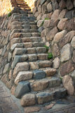 стена лестницы Стоковые Фото