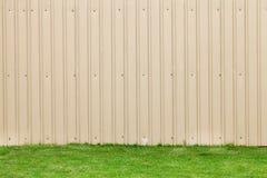 Стена листа металла Стоковое Фото