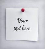 стена листа пустой бумаги затрапезная Стоковая Фотография RF