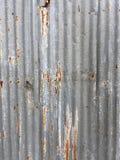 Стена металла Grunge Стоковые Фото