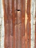 Стена металла Grunge Стоковое Фото
