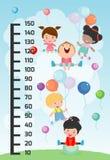 Стена метра с играть детей также вектор иллюстрации притяжки corel бесплатная иллюстрация