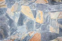 Стена мозаики Grunge каменная Предпосылка и текстура для текста или ima Стоковая Фотография RF