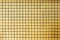 стена мозаики grunge собрания предпосылок старая Желтые предпосылки стены Стоковое Изображение RF