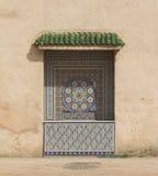 Стена мозаики Meknes Стоковая Фотография