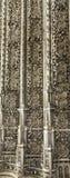 Стена монастыря Batalha Стоковые Фото