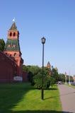 Стена Москва Кремль, Россия Стоковые Изображения