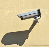 стена наблюдения обеспеченностью принципиальной схемы камеры Стоковые Фото