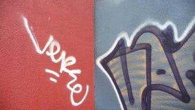 стена надписи на стенах искусства Стоковые Изображения RF
