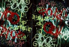 стена надписи на стенах предпосылки Стоковые Изображения