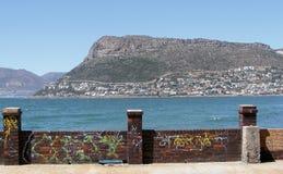 стена надписи на стенах Стоковое Фото