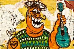 стена надписи на стенах breackwater покрашенная o гаван Стоковое Фото