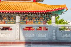 Стена на китайском виске Стоковое фото RF