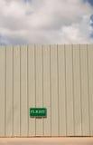 Стена недостатка Стоковая Фотография