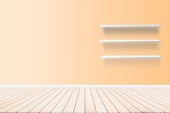 Стена, обои, бумага стены внутри жилых домов На концепции конспекта стиля партера планки пола Стоковые Изображения RF