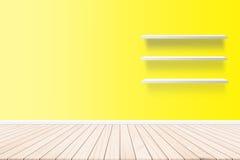 Стена, обои, бумага стены внутри жилых домов На концепции конспекта стиля партера планки пола Стоковое Изображение RF