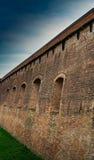Стена обороны Стоковые Фотографии RF