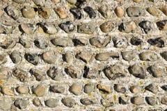 Стена огнива каменная Стоковая Фотография