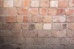 стена огорченная кирпичом Стоковые Фотографии RF
