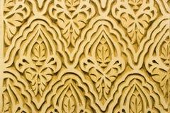 стена орнаментов Стоковое Фото