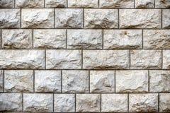 Стена от больших блоков камня Иерусалима, текстуры Стоковая Фотография