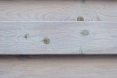 Стена от деревянных горизонтальных доск, естественная древесина, серый цвет, предпосылка Стоковая Фотография