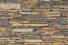 Стена от плоских камней Стоковые Фотографии RF