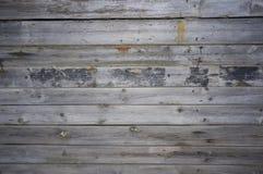 Стена от старых доск с ногтями Стоковое Изображение RF