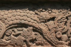 Стена - парк Beihai - Пекин - Китай Стоковое Изображение RF