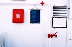 Стена парома Стоковая Фотография