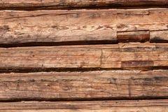 стена пиломатериала старая деревянная Стоковая Фотография