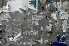 стена плаката урбанская Стоковые Фотографии RF